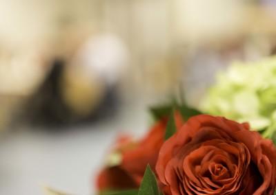 De sfeer van rode rozen...